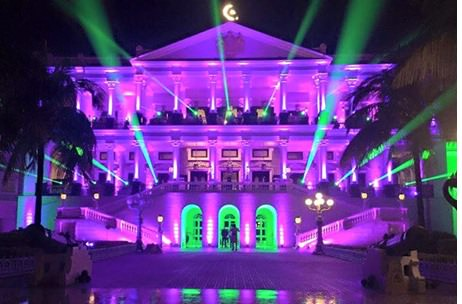 Moving Heads Uses Time Coded Lighting at ICICI Prudential's Luxurious Convention
