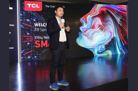 TCL P8 Series of 4K AI TV Launch Executed By Geometry Encompass & Hosted by Sonam C Chhabra
