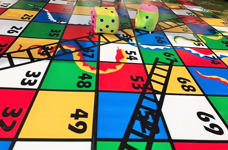 Udaipur Wedding By Celebrations Sees Snakes & Ladder Installation, Fun Games & More!