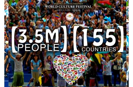 PM Modi will Inaugurate Art of Living's World Culture Festival in Delhi; 3.5 Million People Expected