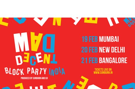 Mad Decent Block Party To Debut in India; Produced By Sunburn & Oji