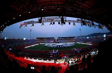 Showtime Group Creates A Show-Stopping Opening Ceremony for Hero ISL 2016