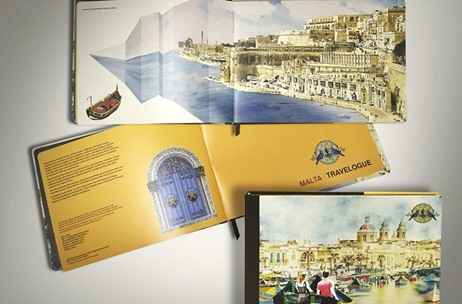 YS Design Studio Produces An Invite & A Book Depicting Malta With Stunning Detailing!