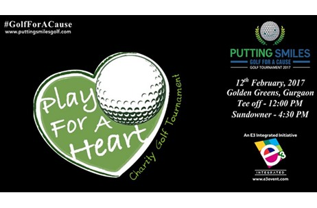 Over 50 CEO's to Come Together for Charity Golf Tourmanent 'Putting Smiles'