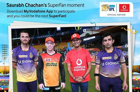 Percept ICE Executes Vodafone's Campaign for IPL 2017