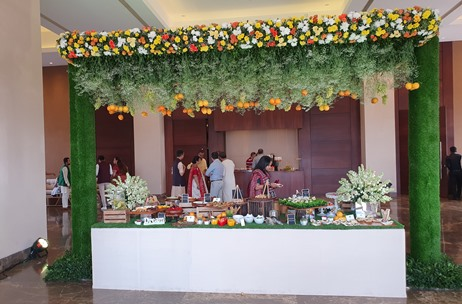 The Gourmet Kitchen Curates an Amazing Culinary Experience at a Pre-Wedding Ceremony in Mumbai