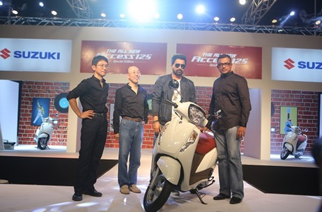The Entertainment Co. Manages the Launch of Suzuki Access 125 Special Edition