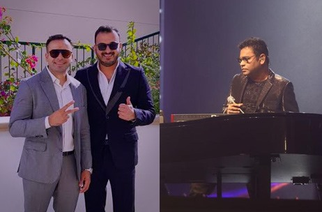 #BornBig: Debut Project by Brothers Inc. Sees 19K + Fans at A.R. Rahman's 'Journey' in Dubai