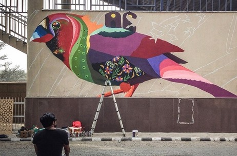 Asian Paints & St+art India Collaborate to Transform Arjan Garh Metro Station into a Walk-in Gallery