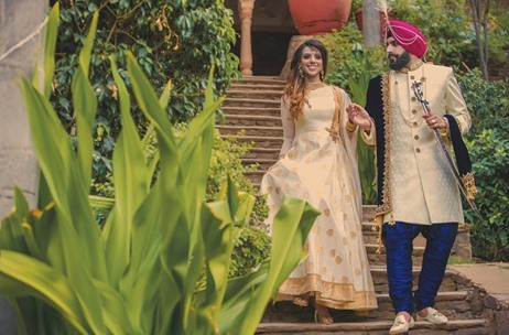 The VIP Studio Creates Yet Another Masterpiece with a Wedding Photoshoot at Neemrana