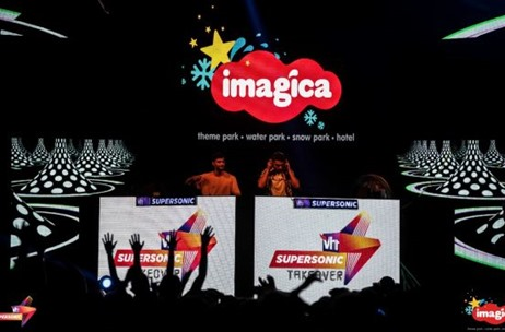 Vh1 Supersonic Takeover At Imagica Theme Park Executed by Media Solutions