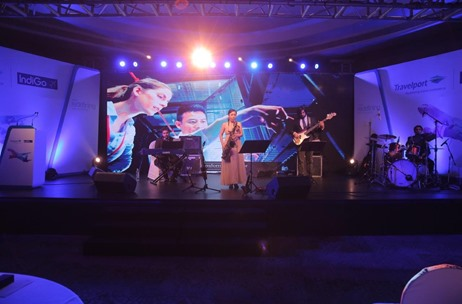 Jazz Connection, Papa CJ and Kubra Sait  Entertain as TravelPort Enters India with IndiGo Airlines