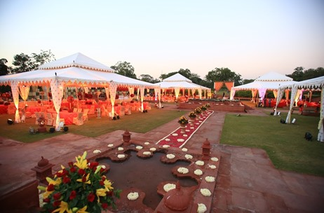 A Royal, Mughal Inspired Jaipur Wedding By Prasang Events & Entertainment
