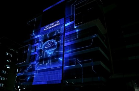 Projection Mapping, AI Robots, Ricky Kej & More at Accenture Innovation Hub Launch by Evenflow