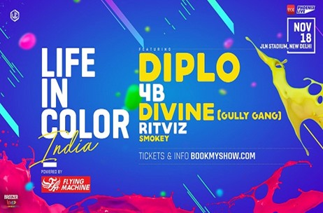 Life in Color India Edition Coming to Delhi in November