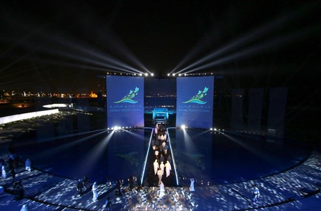 The Technology Behind the Marvellous Dubai Water Canal Opening Ceremony: by Protec