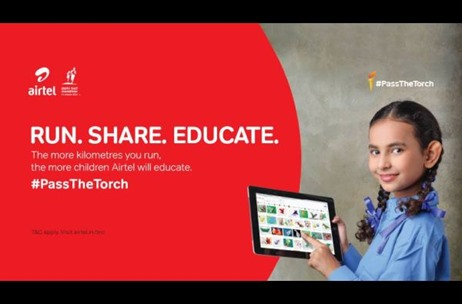 Airtel Rolls out #PassTheTorch Campaign