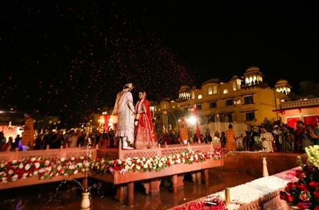 A Wedding in The Beautiful City of Jaipur – By F5 Weddings