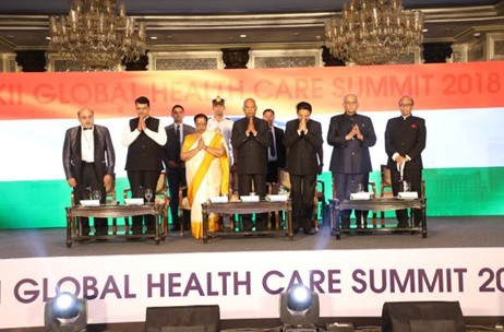 Global Health Care Summit'18 Inaugural by Hon'ble President Shri. Kovind Executed by Young Mirchies