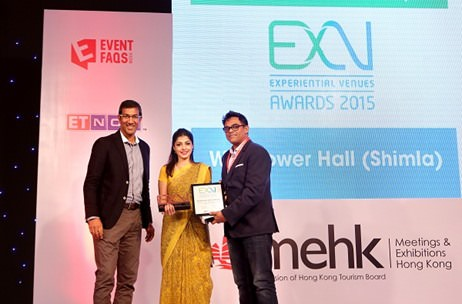 Meet India's Best Small Hotel for Meetings & Incentives - Wildflower Hall, Shimla; ExV Awards 2015