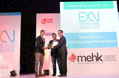 Meet India's Best Venue for Launches - Tier II, Hotel Novotel Visakhapatnam Varun Beach; ExV Awards