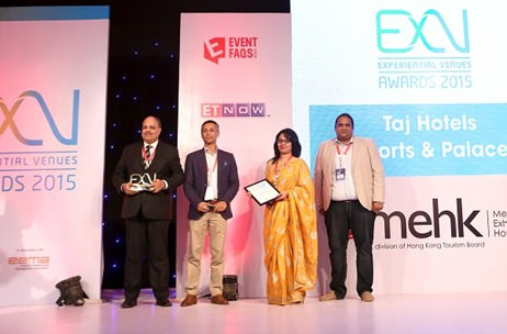 Meet India's Best Domestic Hotel Sales Network, Taj Hotels Resorts & Palaces; ExV Awards 2015
