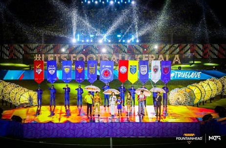 Fountainhead MKTG Manages & Executes the Launch of ISL 2019 Opening Ceremony in Kochi