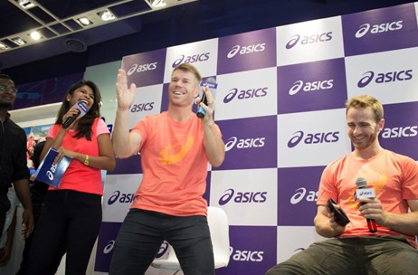 Asics Hyderabad Store Launch Sees David Warner and Kane Williamson Meet & Greet Fans