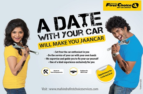 Mahindra First Choice Services Introduces 'A Date With Your Car' – Car Service Workshops
