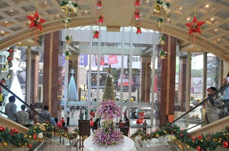 Phase 1 brings an international feel to UB City via its Christmas décor