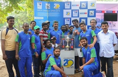 Aircel Chennai Open Trophy travels 350 kms, touches 4500 fans in Chennai