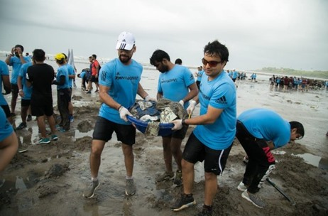 06046f1c588 Adidas x Parley - Run for the Oceans India Edition Produced 100% Plastic  Free by 70EMG - India News   Updates on EVENTFAQS
