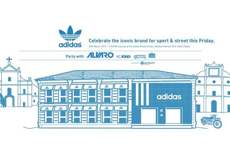 Adidas launches its store in Goa with Sunburn