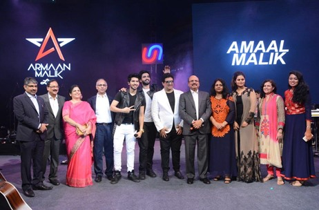 Union Bank Celebrates 98th Foundation Day with Artists Ankit Tiwari, Armaan and Amaal Malik