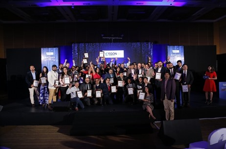 Aegon Life Red Carpet Awards 2017 Organized by engage4more Rewards Outstanding Employee Efforts
