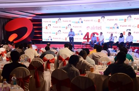 Airtel collaborates with CRI Events for pan-India 4G launch