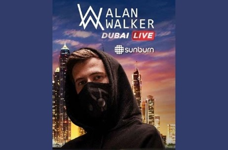 Alan Walker to Perform Live at Dubai's Coca-Cola Arena on Jan 7 as part of Dubai Shopping Festival