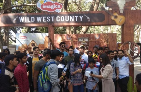 ALL IN Events Executed 'Wild West County' Theme for Adlabs Entertainment Limited at Mood Indigo