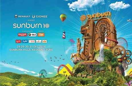 Percept Claims it has Invested INR 110 Cr. in Sunburn Calendar'17