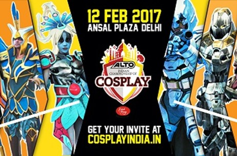 Comic Con India Announces the Launch of Alto Indian Championship of Cosplay