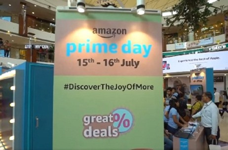 Geometry Encompass Conceptualizes & Executes Amazon Prime Day Celebration Event