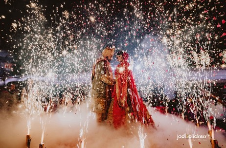 Jodi Clickers Beautifully Captures a Multi-Venue Wedding for Ankit & Ayushi in Udaipur
