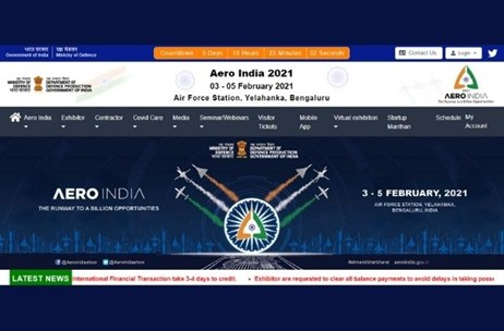 Bengaluru Set to Dazzle with Hybrid Aerospace and Defence Exhibition Aero India-21 from February 3