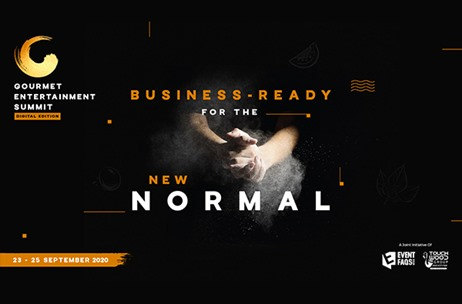 #GES20: Gourmet Entertainment Summit in August with 'Business Ready for the New Normal' Premise