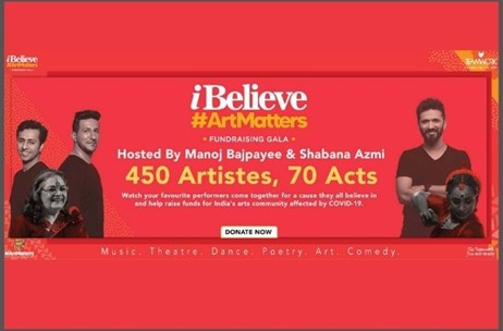 Teamwork Fine Arts Society Announces 'I Believe #ArtMatters', a Fund-raiser Gala on Oct 4