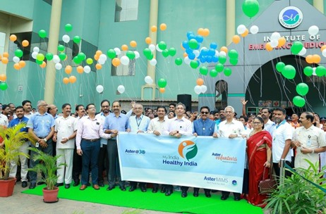 Aster Celebrates Independence Day with 'My India, Healthy India' Campaign Across India