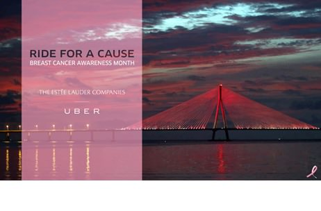 The Estée Lauder in association with Uber India initiates the Breast Cancer Awareness Campaign