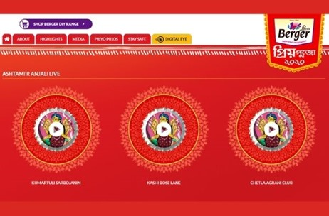 Straight Line Executes 'Berger Priyo Pujo' Activations for Eighth Consecutive Year in West Bengal