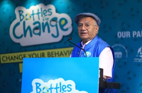 "Bisleri Launches a Plastic Recycling initiative  ""Bottles for Change"""