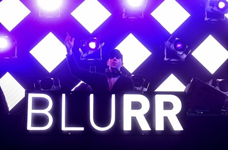 One Up Productions' BLURR: A  Music Extravaganza For Electronic Music Lovers!